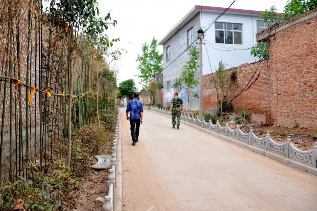 汝阳县东金庄村的新变化